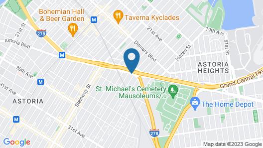 Fairfield Inn by Marriott New York LaGuardia Airport/Astoria Map