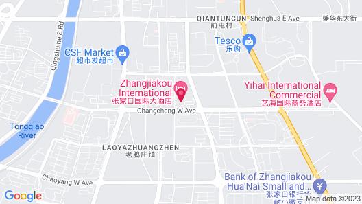 Zhangjiakou International Hotel  Map