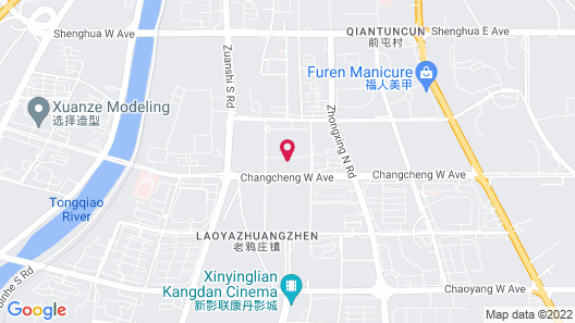Atour Hotel High Tech Zone Zhangjiakou Map