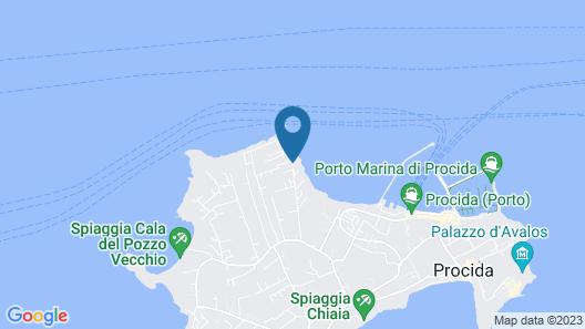 Hotel Tirreno Residence Map