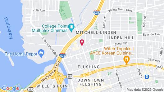 Grandview Hotel New York Map