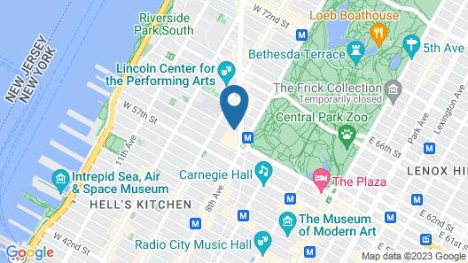 Mandarin Oriental, New York Map