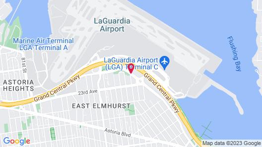 Aloft New York LaGuardia Airport Map