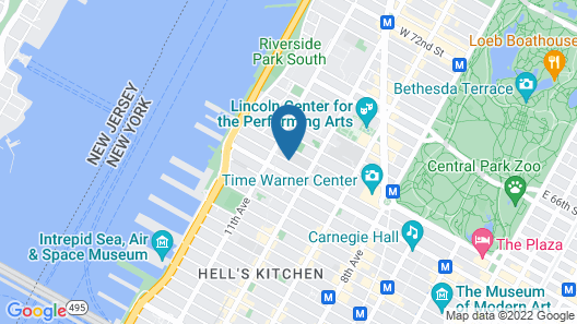 Fairfield Inn & Suites New York Manhattan / Central Park Map