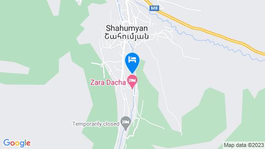 Vanadzor guest house Map
