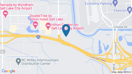 Microtel Inn & Suites by Wyndham Salt Lake City Airport Map