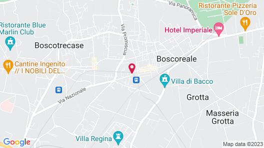 Hotel Villa Silvana Map