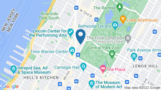 West Side YMCA Map