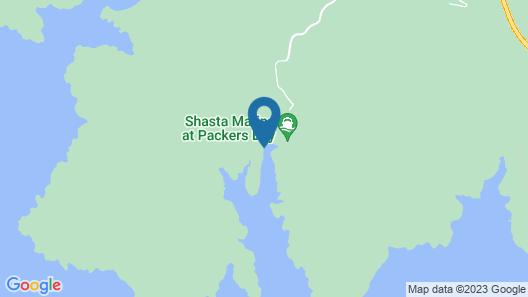 Shasta Marina at Packers Bay Mirage II Houseboat Map