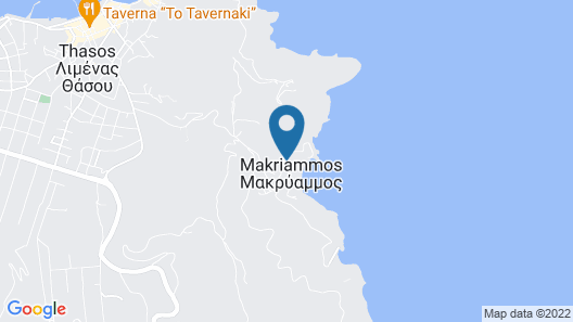 Makryammos Bungalows Map
