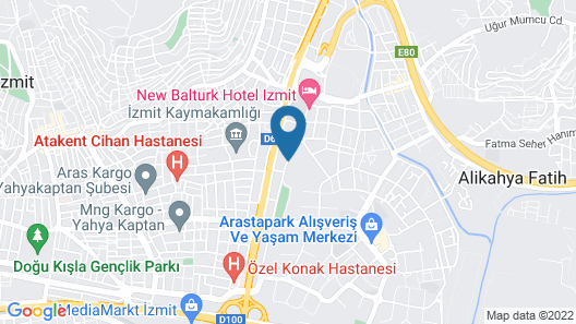 Ramada Plaza by Wyndham Izmit Map