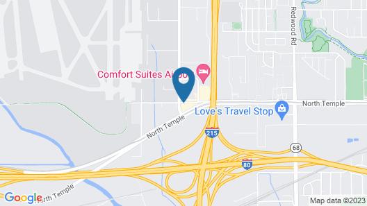 Radisson Hotel Salt Lake City Airport Map