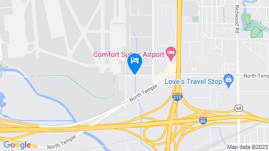 Airport Inn Hotel Map