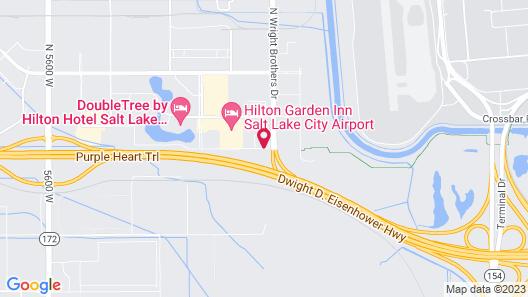 Courtyard by Marriott Salt Lake City Airport Map