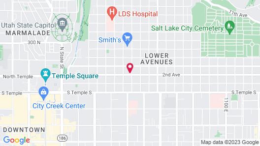 Avenues Hostel Map