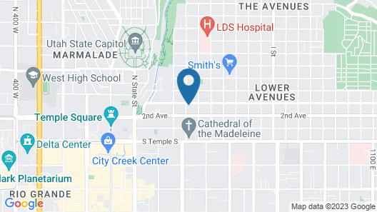 Ellerbeck Mansion Bed & Breakfast Map