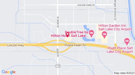 Fairfield Inn & Suites by Marriott Salt Lake City Airport Map