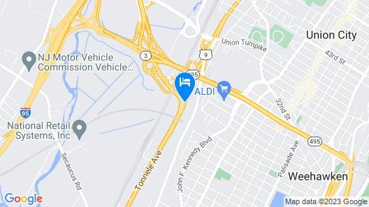 Days Hotel by Wyndham North Bergen /NYC Area Map