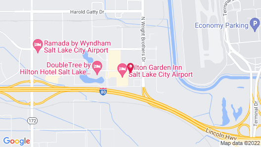 La Quinta Inn & Suites by Wyndham Salt Lake City Airport Map