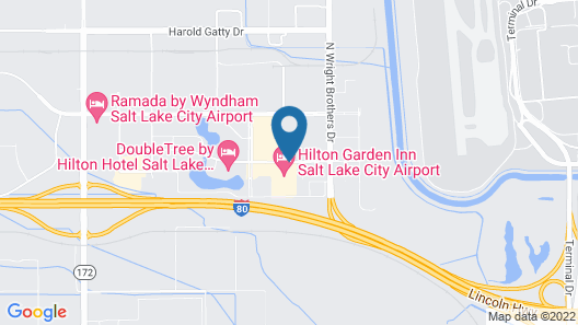 SpringHill Suites by Marriott Salt Lake City Airport Map