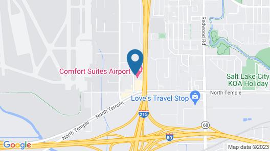 Holiday Inn Express Hotel & Stes Salt Lake City-Airport East, an IHG Hotel Map
