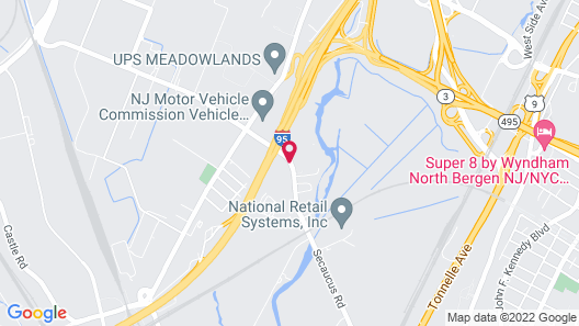 Candlewood Suites Secaucus - Meadowlands Map