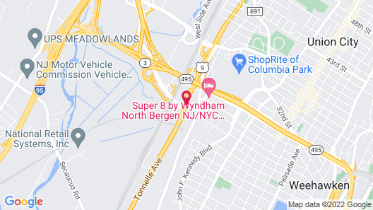 Meadowlands View Hotel Map