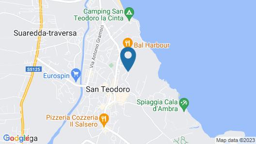 Holiday Residence Oasi Blu, San Teodoro Map