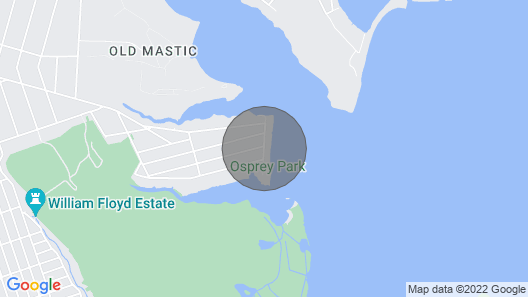 Ocean Drive House - Wraparound Decks Map