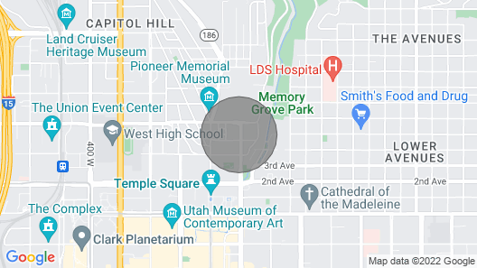 Cozy Guest House ON Historic Capitol Hill Map