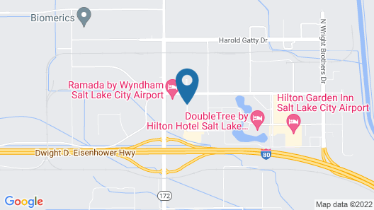 Quality Inn & Suites Airport West Map