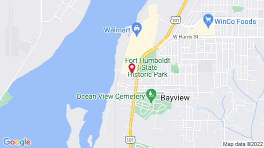 Best Western Plus Bayshore Inn Map