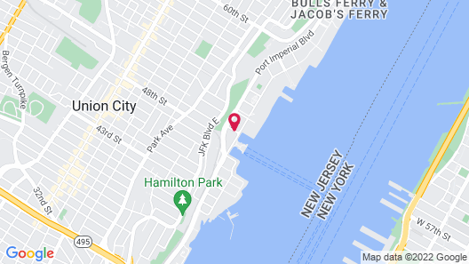 Residence Inn by Marriott Weehawken Map