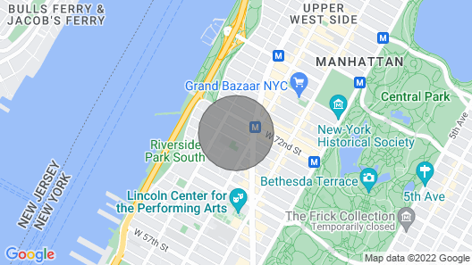 Upper West Side - Very Large Townhouse Apt - Renovated Map