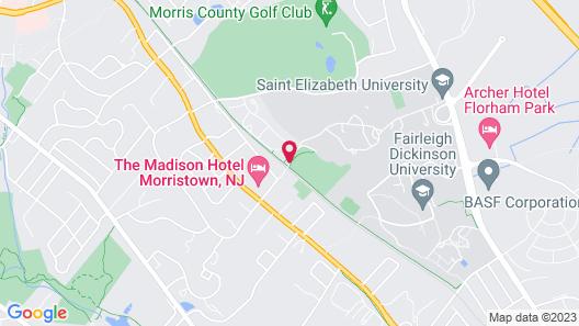 Madison Hotel Map