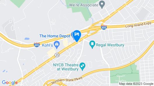 Inn at Jericho Map