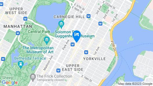 voco The Franklin New York, an IHG Hotel Map