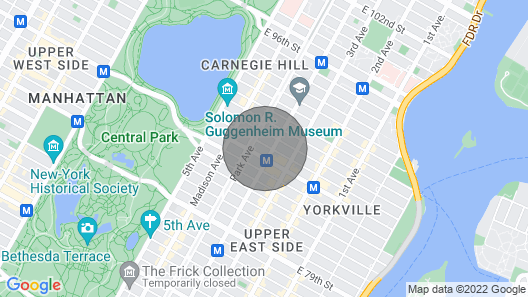 Ultra Luxury Apartment Steps From Central Park And Museum Mile. New Listing Map