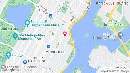 Courtyard by Marriott New York Manhattan/Upper East Side Map