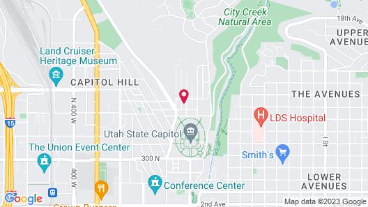 DeSoto Tudor on Capitol Hill Map