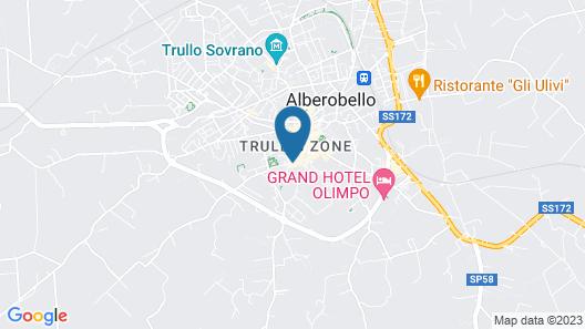 Trulli e Puglia Map