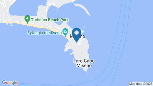 Cala Moresca Hotel Map