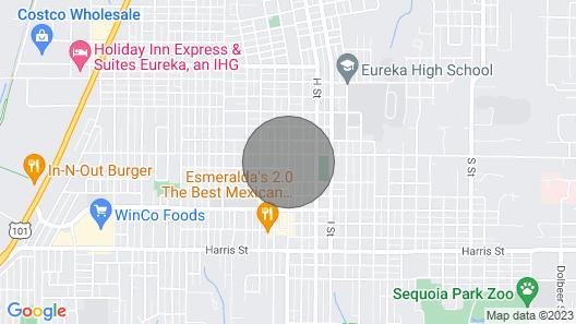 Hydrangea Inn Map