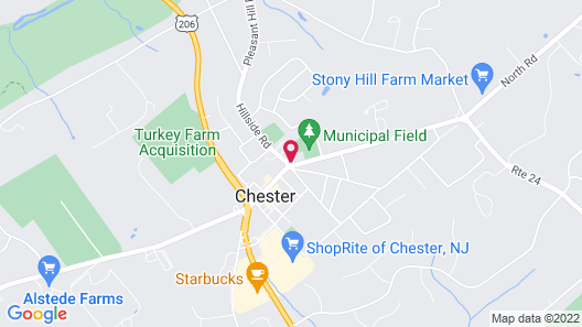 The Chester Publick House Restaurant and Inn Map