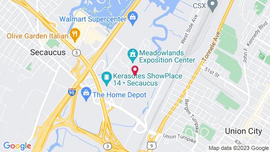Hyatt Place Secaucus/Meadowlands Map