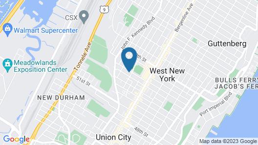 2cozy Apt W Fast Transportation To New York City Map
