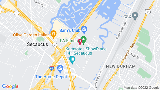 Courtyard by Marriott Secaucus Meadowlands Map