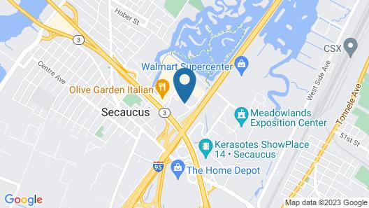 La Quinta Inn & Suites by Wyndham Secaucus Meadowlands Map