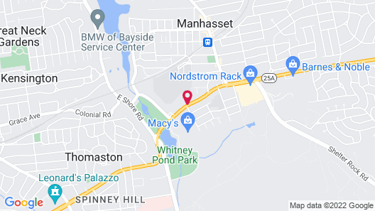 Travelodge by Wyndham Manhasset Map