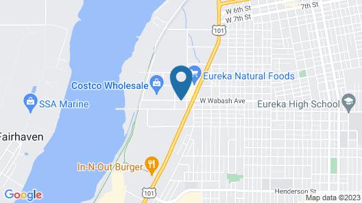 Holiday Inn Express & Suites Eureka, an IHG Hotel Map